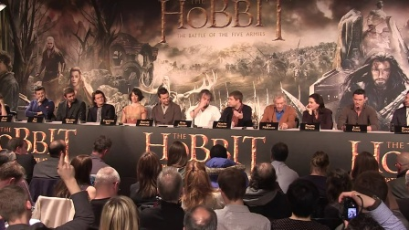 The Hobbit- The Battle of the Five Armies Press Conference in Full