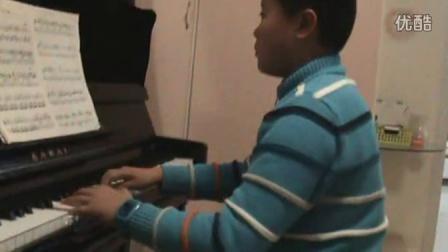 钢琴练习《欢乐的牧童》