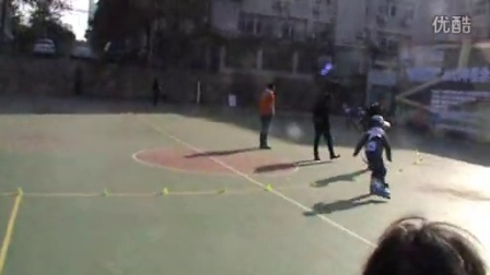 7岁9个月康辉速滑比赛300m 获得湖北省金奖(哥不是传说 不要迷恋哥)