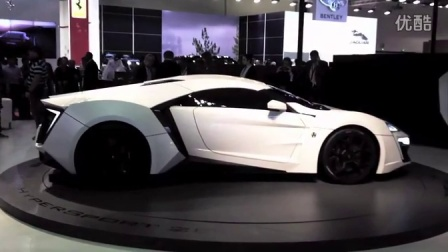 2015 W Motors Lykan HyperSport 超级跑车
