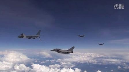 法空军远程核打击演习