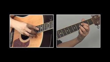 卢家宏指弹吉他完整教程 第八章 技巧练习 人工泛音8