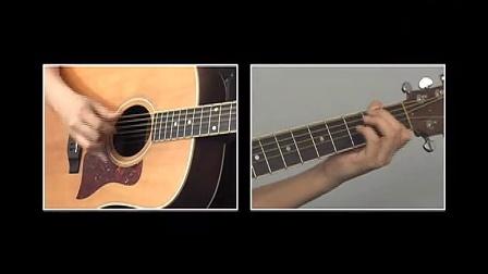 卢家宏指弹吉他完整教程 第八章 技巧练习 11押尾光太郎特殊手法
