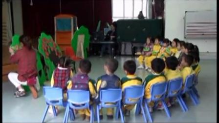 好老师幼儿园优质课小班语言游戏《爱吃水果的毛毛虫》