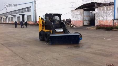 现代重工XD800 扫雪机