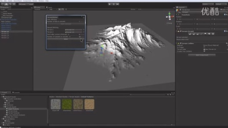 Unity3D Island terrain - Tiled Worldmachine heightmaps
