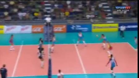 巴西女排超级联赛第07轮(Saúde_São Caetano - Molico_Nestlé)