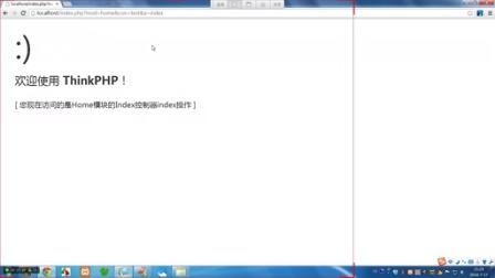 [003]ThinkPHP3.2.2-URL模式与配置
