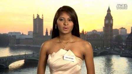 2014世界小姐竞选 新加坡小姐Dalreena Poonam Gill自我介绍短片