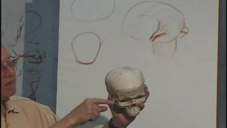 Vilppu01.经典人体1.[头部解剖素描1].Head1