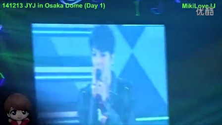 141213 JYJ~一期一会~大阪京瓷巨蛋演唱会-金在中 SOLO《Butterfly》[MikiLoveJJ]