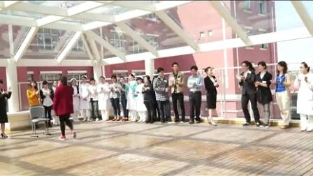 2014.11.1知礼仪,行天下(用餐基本礼仪)站姿(爱甲香织)