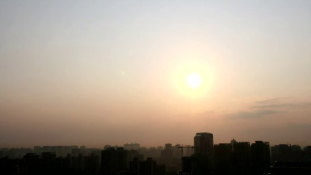 SP083延时-北京太阳升起