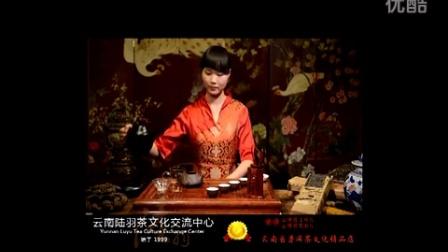 云南陆羽茶文化交流中心_普洱茶冲泡流程_茶艺表演