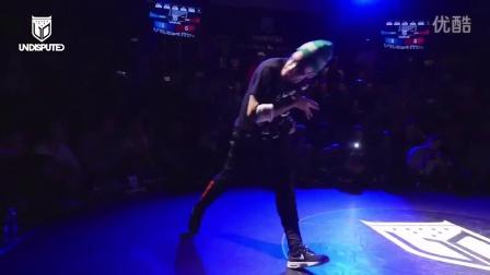 【粉红豹】bboy Alkolil vs Lilou_Undisputed 2014 breaking