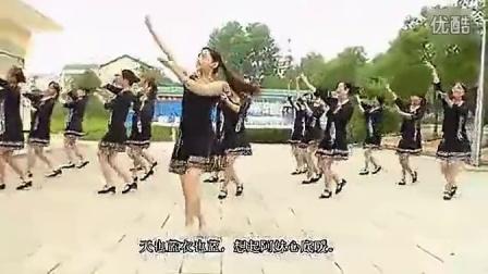 穿心村文雯广场舞高原蓝 2014广场舞
