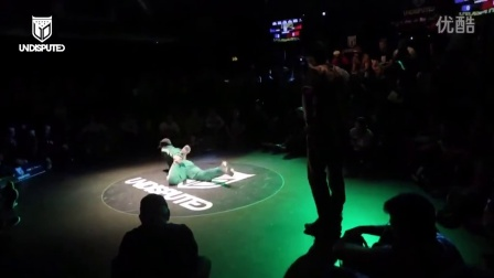 【粉红豹】bboy Menno vs Spin _ Undisputed 2014 breaking