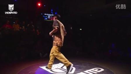 【粉红豹】bboy Kleju vs Spin _ Undisputed 2014 breaking