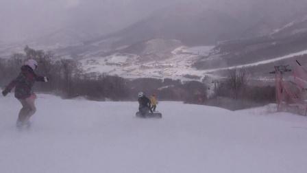 【疯滑雪跃俱乐部】2014年12月北大湖首滑