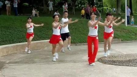 宝安公园南门青春活力跳舞队《跟我一起学跳健身舞》4-6辑-1