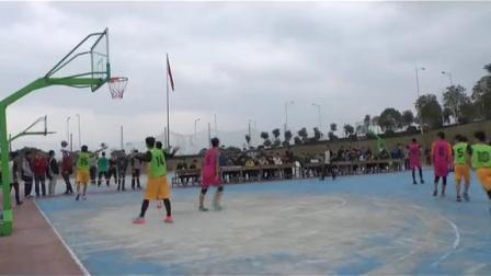2014福州软件职业技术学院新生篮球决赛集锦