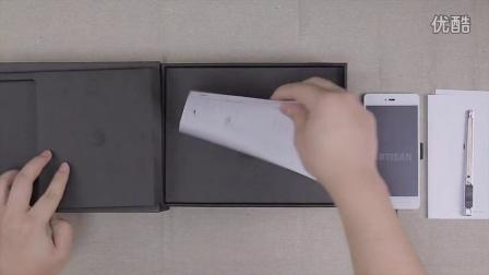 [手机中国]白色锤子手机开箱