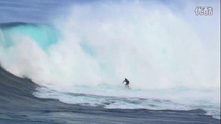 极限冲浪  在高山梯田里 极限运动