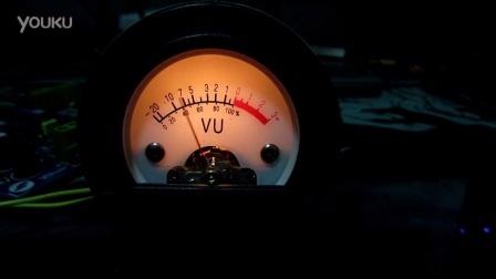《云外天》EE线路VU表 电平表驱动板, 52系列表头 视频2