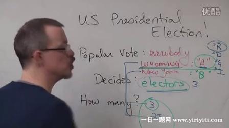 英语解答 What is the electoral voting system