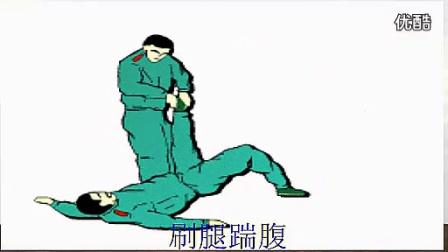 武警内部不外传的摔擒、擒敌拳,格斗技巧_标清