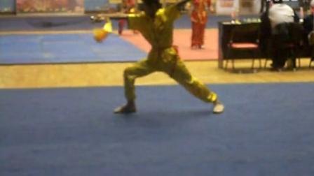 雅格艺术培训王明杰 少林传统刀术 湖南省比赛第五名