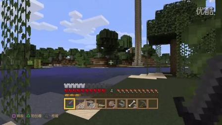 ps4版Minecraft自然材质自录视频