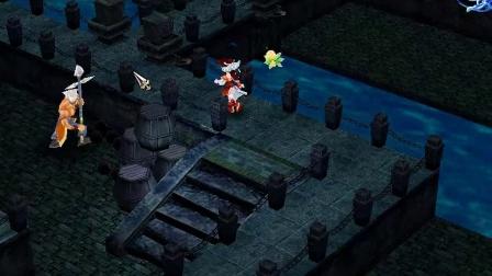 仙剑三迷宫及boss战之霹雳堂及魔披风