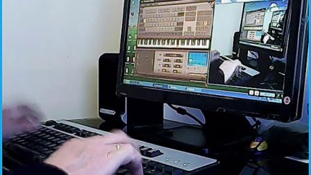拥军花鼓 EOP键盘钢琴弹奏