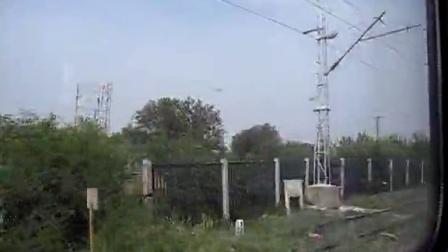 乘K7714次列车去北京7 京广铁路小运转