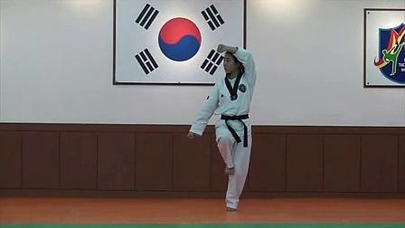 跆拳道品势指导法02金刚_标清