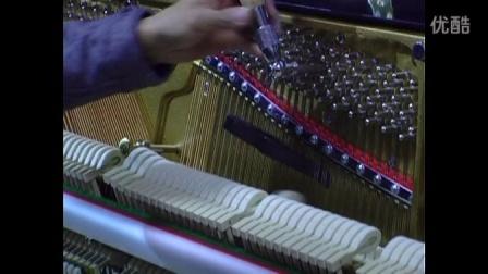 斯坦伯格钢琴高级调律师技师调律整理整音示范(之五)