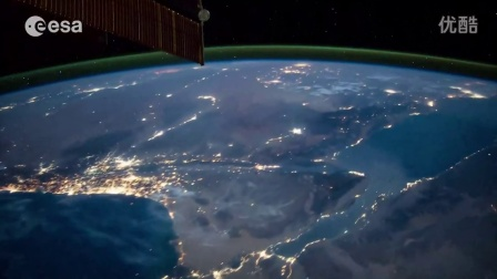 (2014. 12) 欧洲航天局发布空间站拍摄壮丽的太空及地球影像