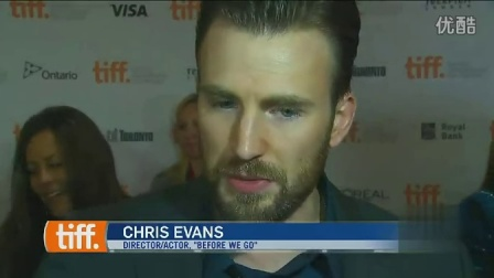 CTV Toronto Chris Evans at TIFF