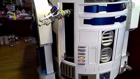 R2D2's Griper and zapper door completed and automated!