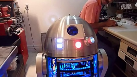 R2-D2 Dome Automation with iPhone