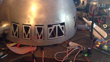 R2-D2 Side Dome Panel Testing
