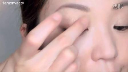 KATE 2014 最新上市 骨干重塑 3+1眼影   彩妆 教学 示范 画眼影