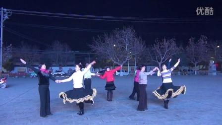 2014121919210603泾阳县天天乐艺术团培训班《快三交谊舞》结业表演剪影