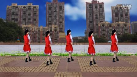 沅陵燕子广场舞《拉卜楞姑娘》(林子演示)