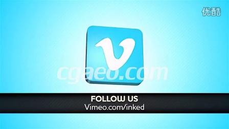 社交网络公司标志旋转展示 Social Network