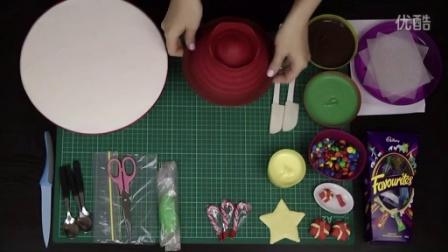 巧克力圣诞树皮纳塔!无烤圣诞甜品食谱作者蛋糕成瘾
