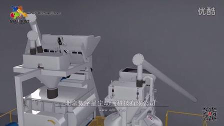 砌块成型机三维动画 北京三维动画公司 产品演示动画 制砖设备动画
