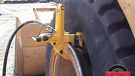 轮胎趾口脱离器 铲车轮胎扒胎机 便携式工程胎拆装工具 压胎工具 卡车工程车拆胎扒胎工具15088085054