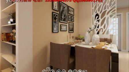 扬州佳家花园小户型装修效果图-扬州一号家居网